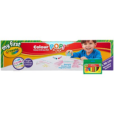 Crayola Color Pop Draw & Erase Mat