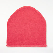 Buy John Lewis Cashmere Roll Beanie Hat Online at johnlewis.com