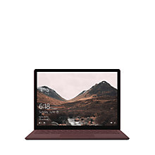 "Buy Microsoft Surface Laptop, Intel Core i5, 8GB RAM, 256GB SSD, 13.5"" PixelSense Display Online at johnlewis.com"