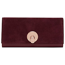 Buy Ted Baker Noelia Leather Turnlock Matinee Purse Online at johnlewis.com