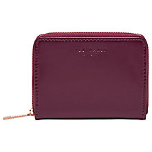 Buy Ted Baker Omarion Leather Mini Purse Online at johnlewis.com