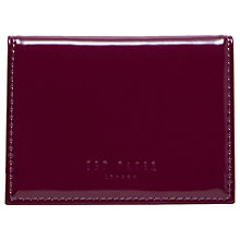 Buy Ted Baker Lella Leather Card Holder Online at johnlewis.com