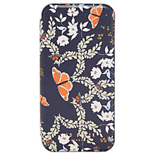 Buy Ted Baker Mariman Kyoto Gardens iPhone Case, Mid Blue Online at johnlewis.com