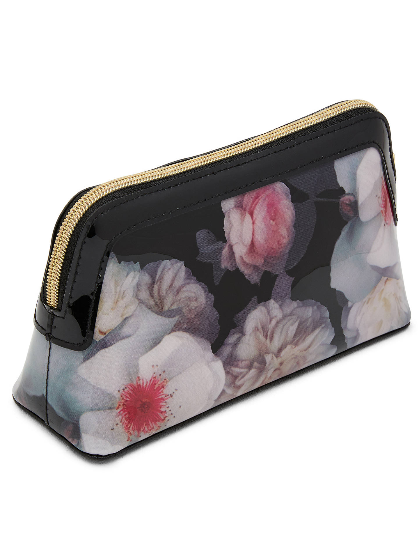 836064e196e1 Ted Baker Chelsea Grey Milless Makeup Bag at John Lewis   Partners