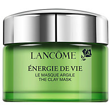 Buy Lancôme Energie De Vie The Clay Mask, 75ml Online at johnlewis.com