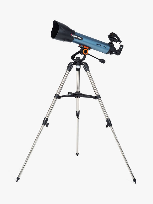 Buy Celestron Inspire 100AZ Refractor Telescope with Smart Phone Adapter Online at johnlewis.com