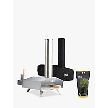 Buy Uuni 3 Pizza Oven, Cover Bag and Pellets Set Online at johnlewis.com