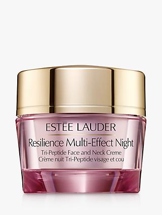 Estée Lauder Resilience Lift Night Firming Face and Neck Creme, 50ml