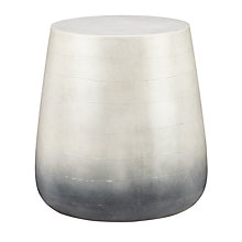 Buy John Lewis Leia Concrete Outdoor Side Table Online at johnlewis.com