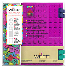 Buy Waff A5 Fuchsia Notebook Online at johnlewis.com