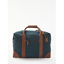 Buy JOHN LEWIS & Co. Canvas Holdall, Brown Online at johnlewis.com