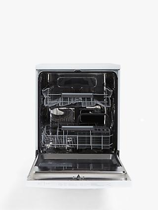 John Lewis & Partners JLDWW1327 Freestanding Dishwasher, White