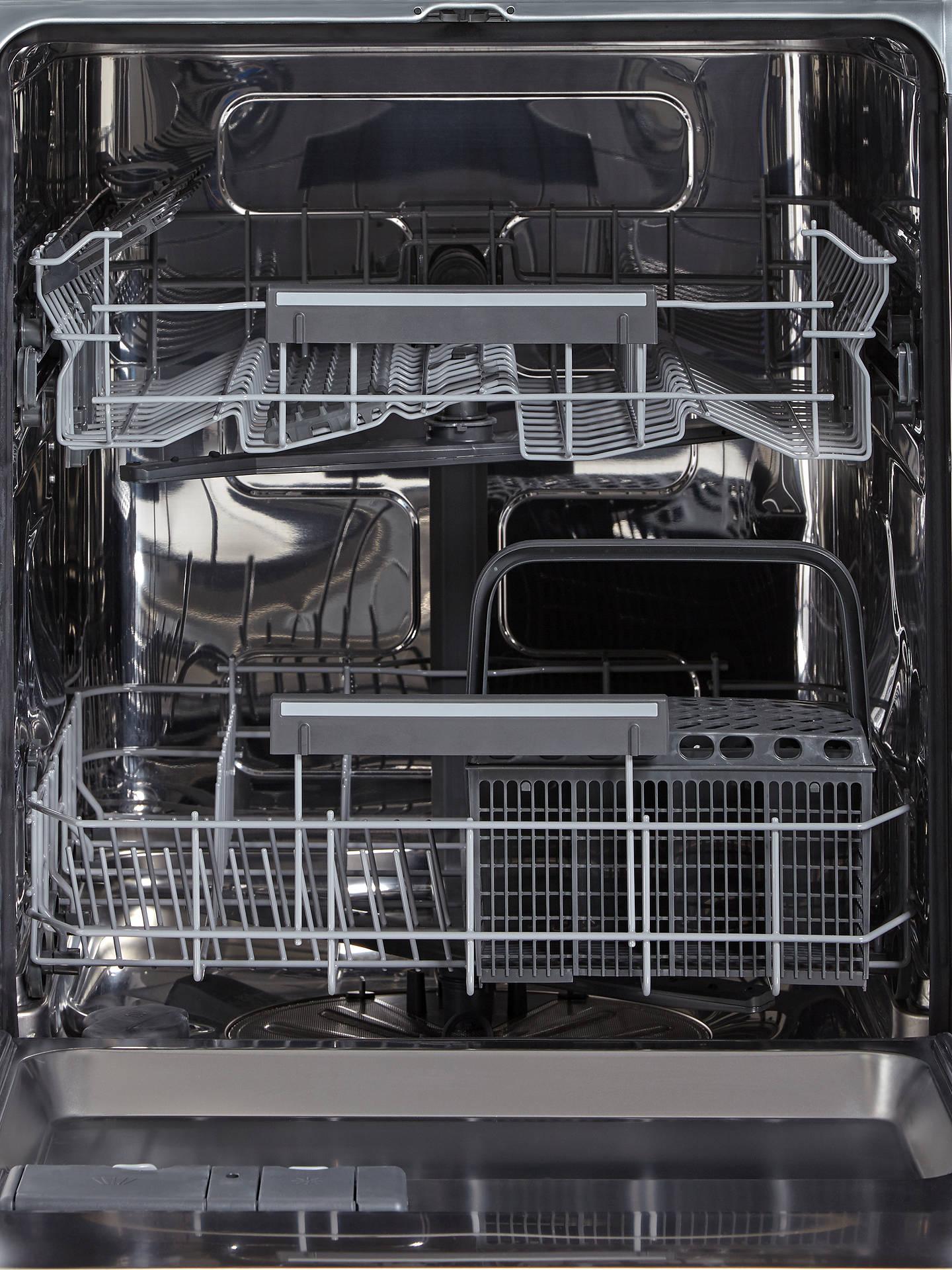 John Lewis & Partners JLDWW1327 Freestanding Dishwasher, White