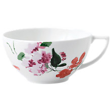 Buy Wedgwood Jasper Conran Floral Tea Cup, White/Multi Online at johnlewis.com