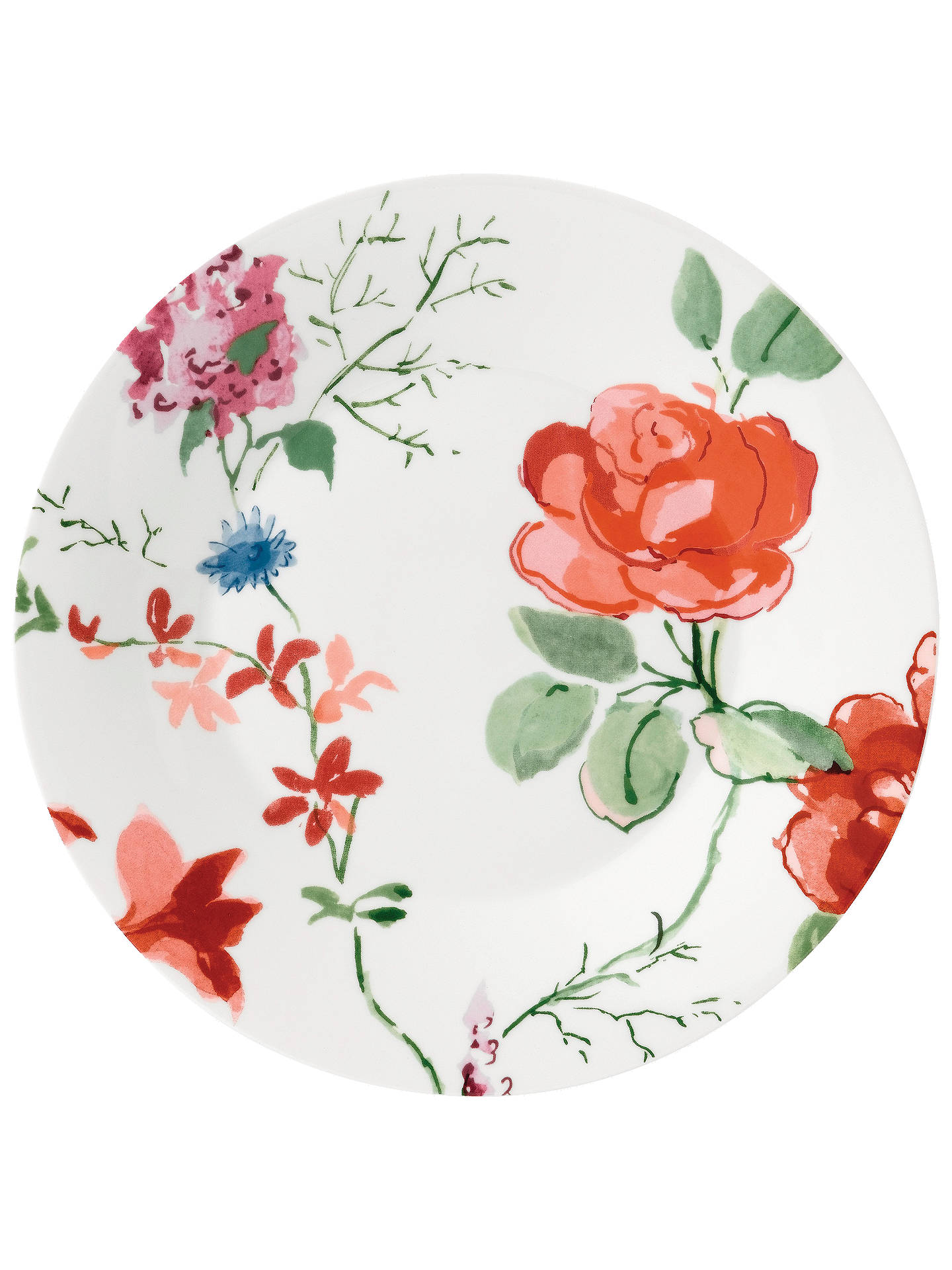 NEW Wedgwood PAINTED GARDEN 23cm Plates