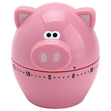 Buy Joie Oink Oink Kitchen Timer, Pink Online at johnlewis.com