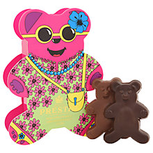 Buy Prestat Chocolate Holiday Bears, Box of 2, 50g Online at johnlewis.com