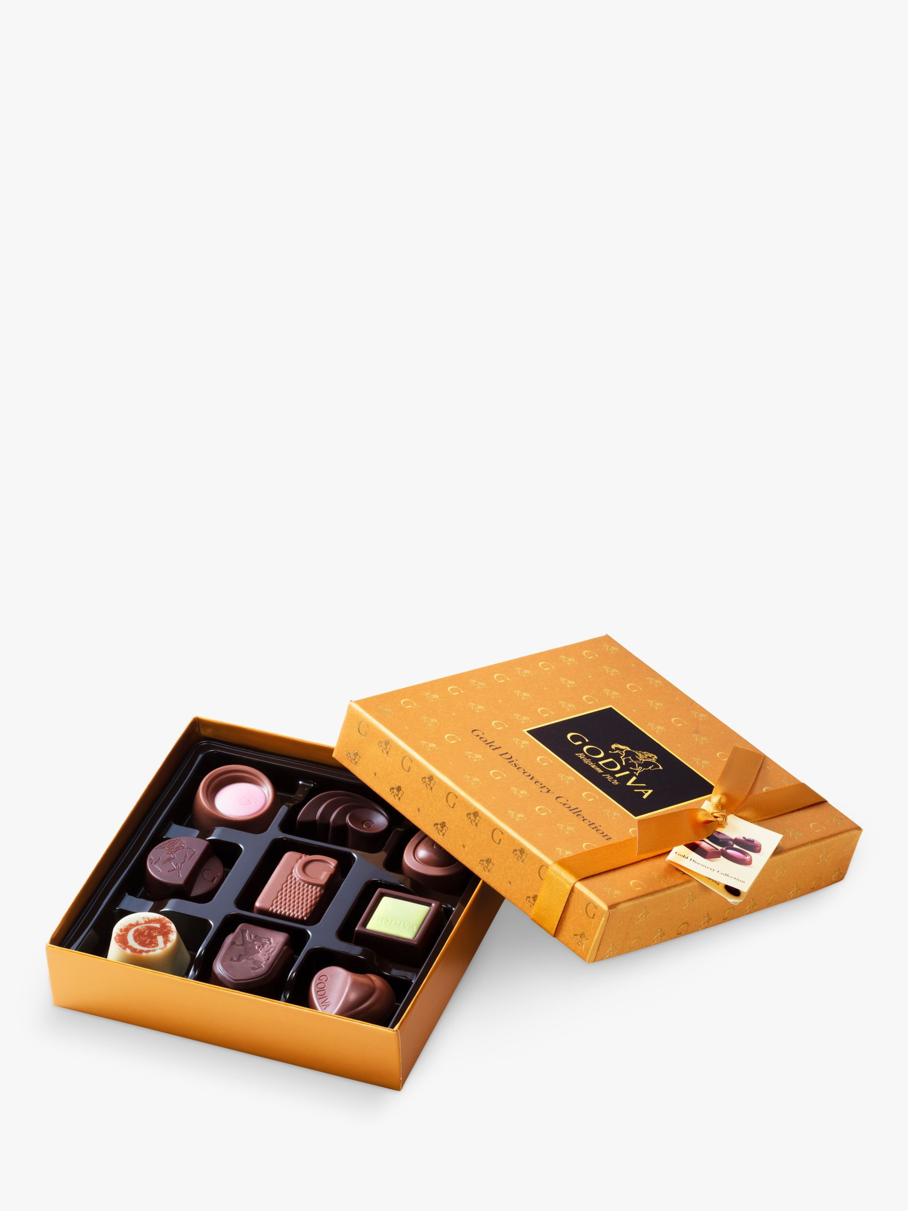 Godiva Godiva Gold Discovery Chocolate Collection, Box of 9, 95g