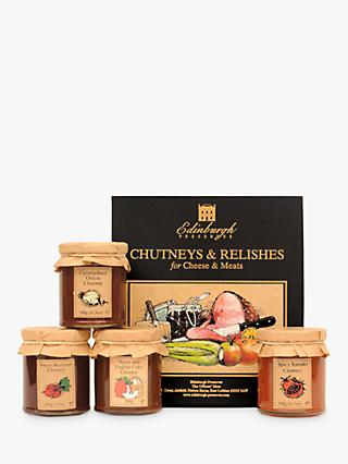 Edinburgh Preserves Chutneys & Relishes For Cheese and Meats, 700g