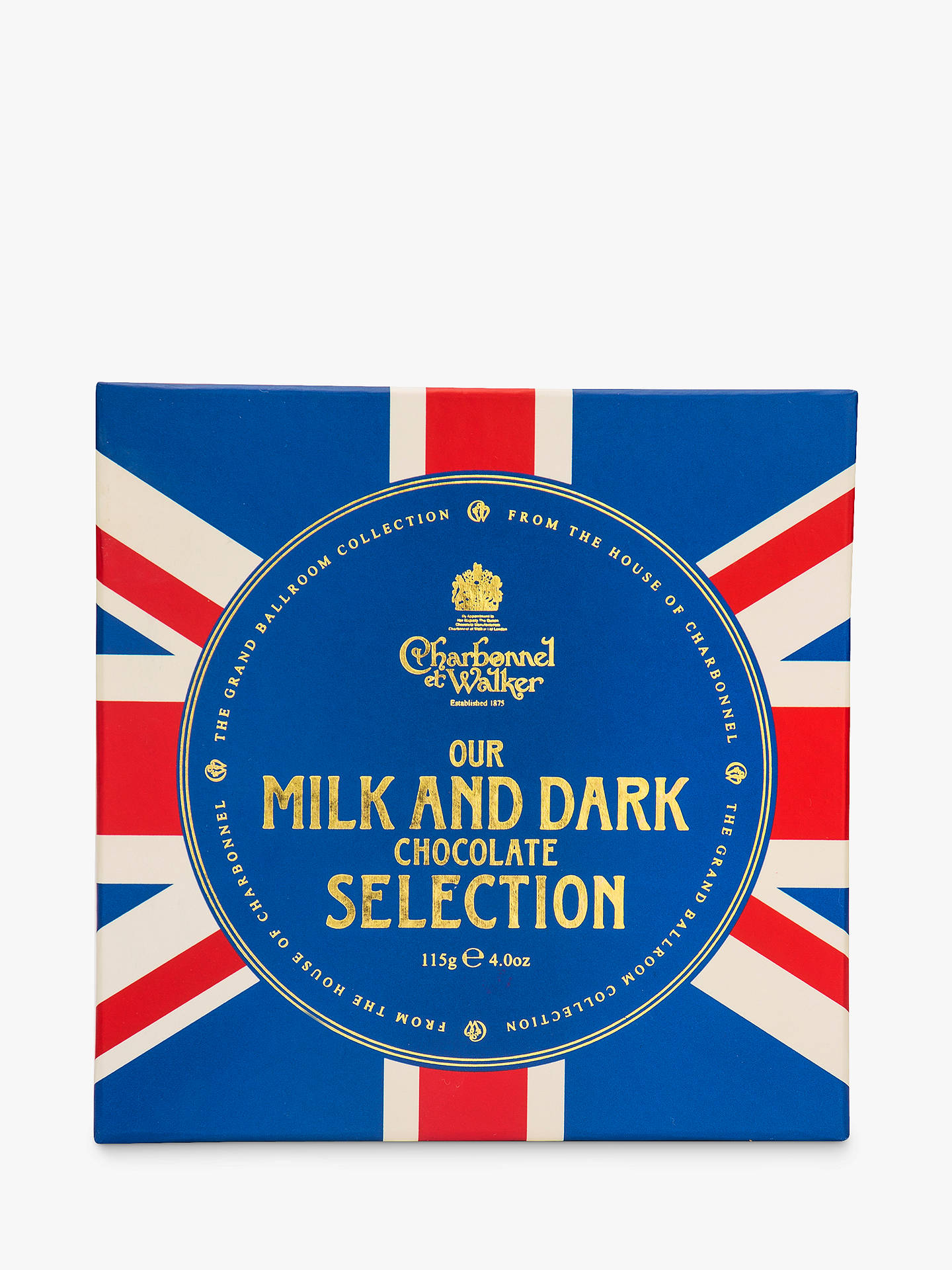 BuyCharbonnel et Walker Union Jack Milk and Dark Chocolate Selection, 115g Online at johnlewis.com