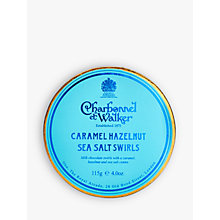 Buy Charbonnel et Walker Caramel Hazelnut Sea Salt Swirls, 115g Online at johnlewis.com