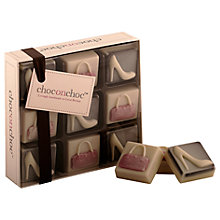 Buy Choc on Choc Chocolate Handbag & Heels, 110g Online at johnlewis.com