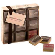Buy Choc on Choc Mine / Yours Chocolates, 90g Online at johnlewis.com