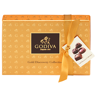 Image of Godiva Gold Discovery Chocolate Collection, Box of 6, 65g