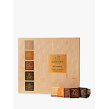 Buy Godiva Full Range Carrés, Box of 60, 310g Online at johnlewis.com