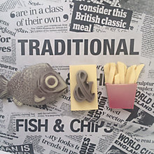 Buy Choc on Choc Chocolate Fish & Chips, 90g Online at johnlewis.com