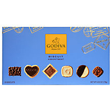 Buy Godiva Biscuit Small Signature Assortment, Box of 23, 178g Online at johnlewis.com