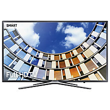 "Buy Samsung UE43M5520 LED Full HD 1080p Smart TV, 43"" with TVPlus, Dark Grey Online at johnlewis.com"