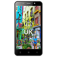 "Buy STK Life 8 Smartphone, Android, 5"", 4G LTE, SIM Free, 8GB, Black Online at johnlewis.com"