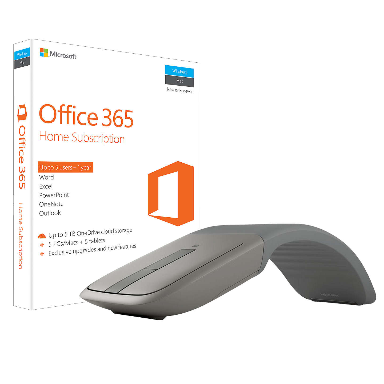 Microsoft Office 365 Home Premium, 5 PCs/Macs + Tablet, One-Year ...