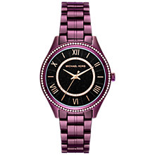Buy Michael Kors MK3724 Laurra Women's Watch, Purple Online at johnlewis.com