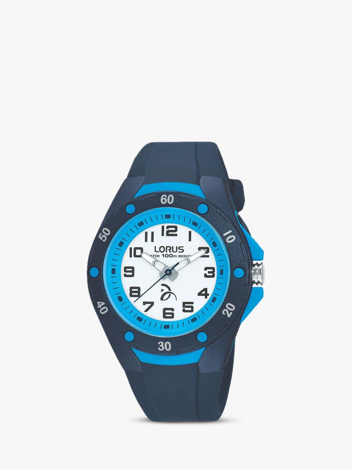Lorus Lorus Children's Novak Djokovic Foundation Silicone Strap Watch