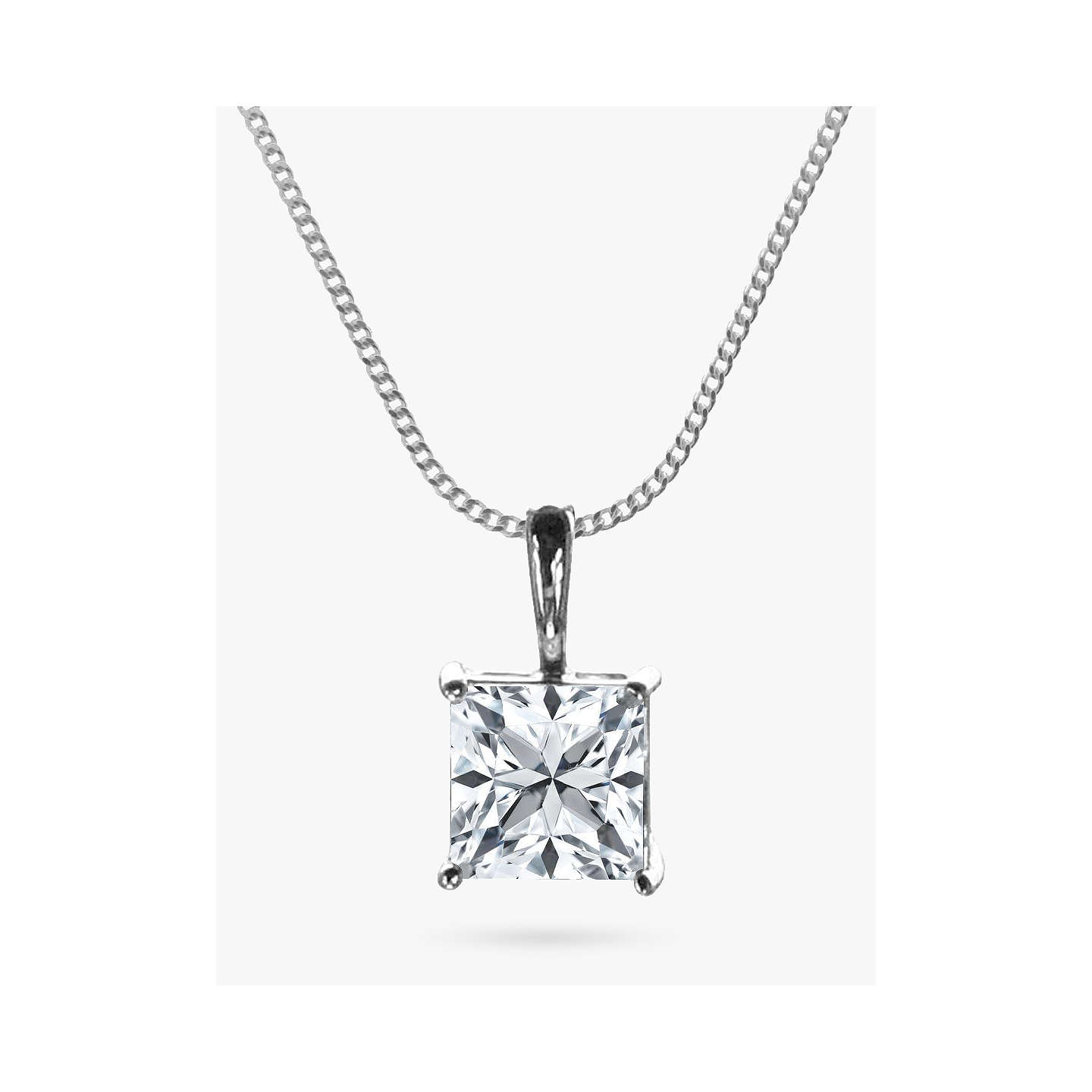 with pink cubic zoom necklace silver zirconia online one images girl chick sterling charm product