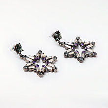 Buy John Lewis Star Statement Drop Earrings, Multi Online at johnlewis.com