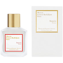 Buy Maison Francis Kurkdjian Amyris Pour Femme Scented Hair Mist, 70ml Online at johnlewis.com