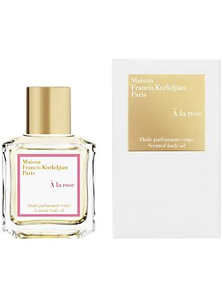 Maison Francis Kurkdjian À La Rose Scented Body Oil, 70ml