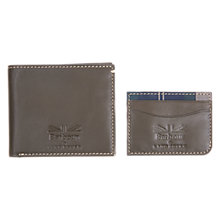 Buy Barbour Land Rover Defender Leather Wallet Gift Set, Olive Online at johnlewis.com