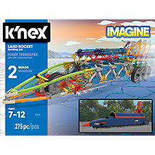 Buy K'Nex 82403 Land Rocket Building Set Online at johnlewis.com