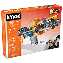 Buy K'Nex K Force Flash Fire Motorised Blaster Building Set Online at johnlewis.com