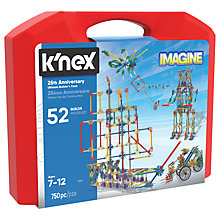 Buy K'Nex 35013 25th Anniversary Ultimate Builder's Case Online at johnlewis.com