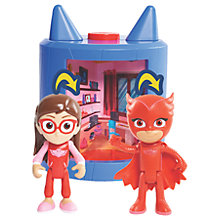Buy PJ Masks Owlette Transforming Playset Online at johnlewis.com