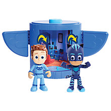 Buy PJ Masks Cat Boy Transforming Figure Set Online at johnlewis.com