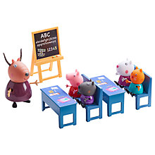 Buy Peppa Pig Classroom Playset Online at johnlewis.com