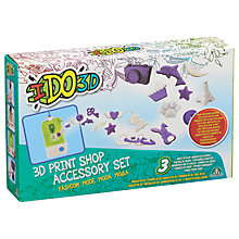 Buy IDO3D 3D Print Shop Accessory Set Fashion Mode Online at johnlewis.com