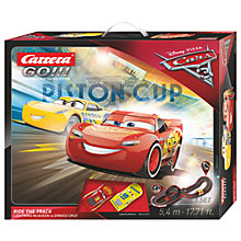 Buy Carrera Go!!! Disney Pixar Cars 3 Racing Set Online at johnlewis.com