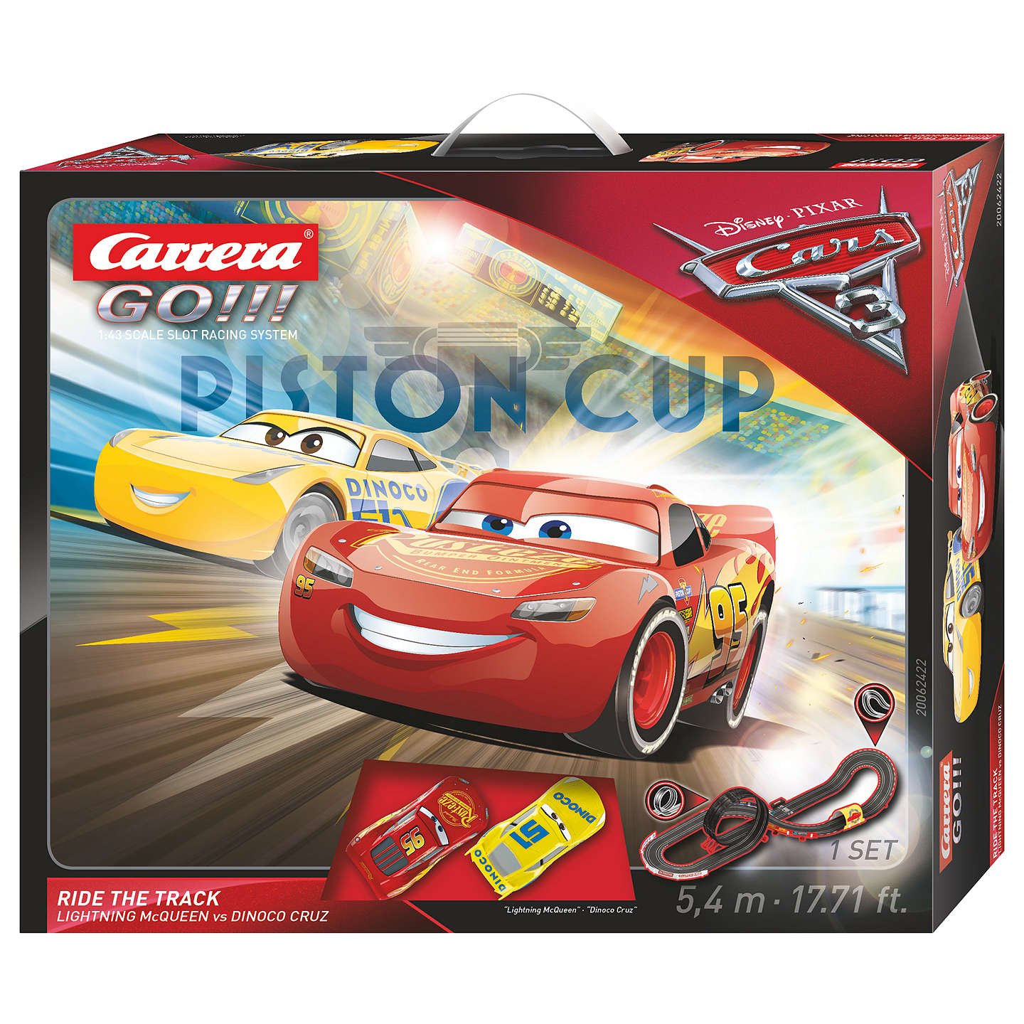 Disney Pixar Cars 3 Racing Set Online At Johnlewis.com ...